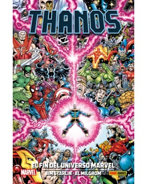 100% Marvel HC. THANOS: EL FIN DEL UNIVERSO MARVEL  ( la nueva saga del Infinito 02 de 04 )