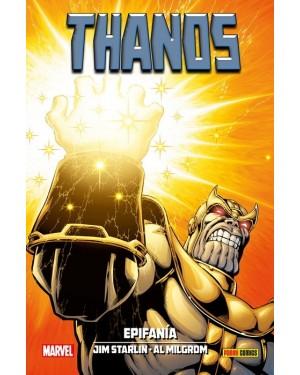 100% Marvel HC. THANOS: EPIFANÍA  ( la nueva saga del Infinito 03 de 04 )