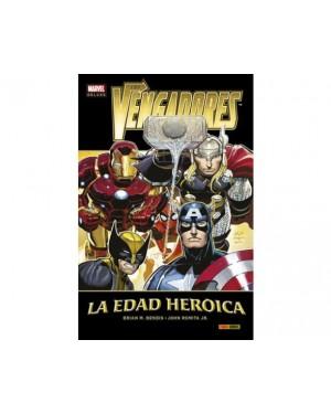 Marvel deluxe:  LOS VENGADORES 01 LA EDAD HEROICA