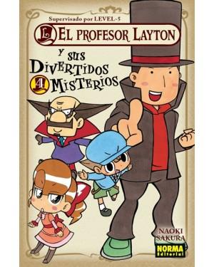 EL PROFESOR LAYTON Y SUS DIVERTIDOS MISTERIOS 04   (de 04)