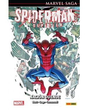 Marvel Saga 101  EL ASOMBROSO SPIDERMAN 44: SPIDERMAN SUPERIOR. NACIÓN DUENDE