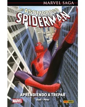 Marvel Saga 103  EL ASOMBROSO SPIDERMAN 45: EL ASOMBROSO SPIDERMAN. APRENDIENDO A TREPAR