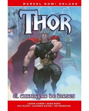 Marvel now! deluxe: THOR DE JASON AARON 01: EL CARNICERO DE DIOSES