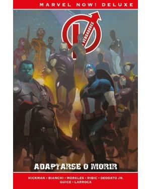 Marvel now! deluxe:  LOS VENGADORES DE JONATHAN HICKMAN 05: ADAPTARSE O MORIR