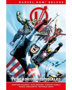 Marvel now! deluxe:  LOS VENGADORES DE JONATHAN HICKMAN 06: VENGADORES MUNDIALES
