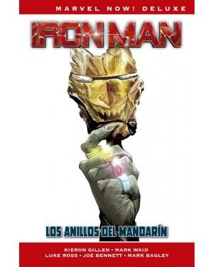 Marvel now! deluxe: IRON MAN DE KIERON GILLEN 03: LOS ANILLOS DEL MANDARÍN