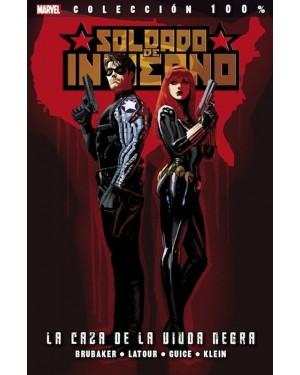 Colección 100% Marvel: SOLDADO DEL INVIERNO 02:  LA CAZA DE LA VIUDA NEGRA