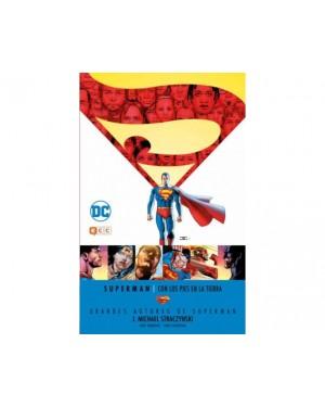 Grandes autores de SUPERMAN: J. MICHAEL STRACZYNSKI. CON LOS PIES EN LA TIERRA