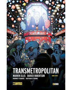 TRANSMETROPOLITAN LIBRO 05 (de 05) (Nueva edición en tapa dura)