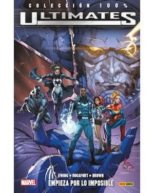 Colección 100% Marvel: ULTIMATES 01: EMPIEZA POR LO IMPOSIBLE