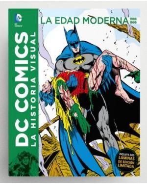 DC COMICS: LA HISTORIA VISUAL. LA EDAD DE ORO 1986 A 1995