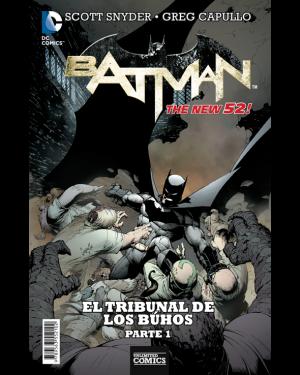BATMAN:  EL TRIBUNAL DE LOS BÚHOS (pack de 4 números)