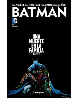 BATMAN:  UNA MUERTE EN LA FAMILIA (pack de 3 números)