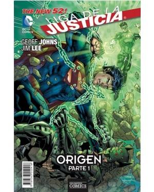 LIGA DE LA JUSTICIA: ORIGEN (pack de 3 números)