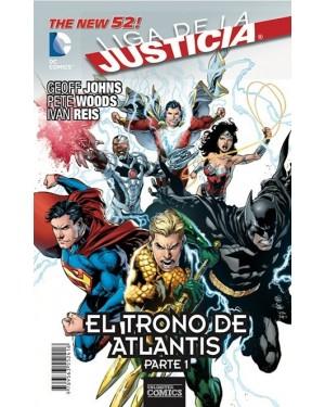 LIGA DE LA JUSTICIA: EL TRONO DE ATLANTIS (pack de 3 números)