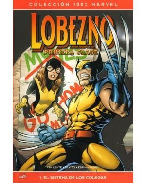 Colección 100% Marvel:  LOBEZNO PRIMERA CLASE 01: EL SISTEMA DE COLEGAS