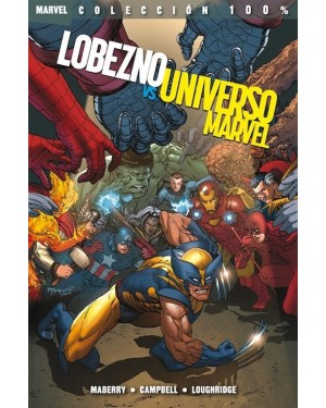 Colección 100% Marvel:  LOBEZNO vs UNIVERSO MARVEL