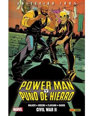 Colección 100% Marvel HC: POWER MAN Y PUÑO DE HIERRO 02: CIVIL WAR II