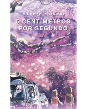 5 CENTÍMETROS POR SEGUNDO (Novela)
