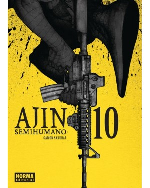 AJIN (SEMIHUMANO) 10 (Gamon Sakurai)