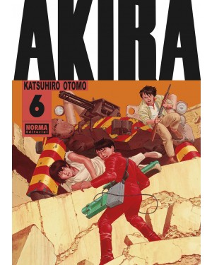 AKIRA 6. Edición original (blanco y negro)   ( de 6)