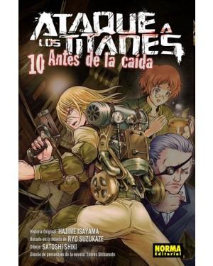ATAQUE A LOS TITANES: ANTES DE LA CAÍDA 10