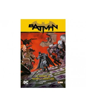 BATMAN SAGA (batman renacimiento parte 6): LA GUERRA DE BROMAS Y ACERTIJOS