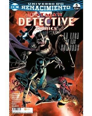BATMAN: DETECTIVE COMICS 05 (Renacimiento)