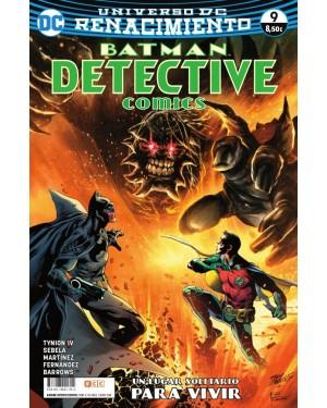 BATMAN: DETECTIVE COMICS 09 (Renacimiento)