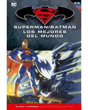 BATMAN Y SUPERMAN - colección novelas gráficas 16: SUPERMAN/BATMAN: LOS MEJORES DEL MUNDO