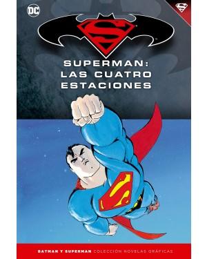 BATMAN Y SUPERMAN - colección novelas gráficas 17: SUPERMAN: LAS CUATRO ESTACIONES