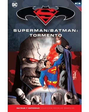 BATMAN Y SUPERMAN - colección novelas gráficas 27: SUPERMAN/BATMAN: TORMENTO