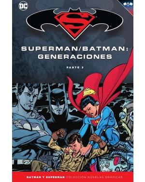 BATMAN Y SUPERMAN - colección novelas gráficas 58: BATMAN/SUPERMAN: GENERACIONES PARTE 3
