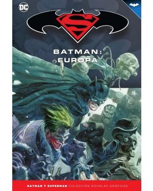 BATMAN Y SUPERMAN - colección novelas gráficas 64: BATMAN: EUROPA