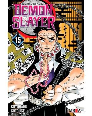 DEMON SLAYER 15 ( kimetsu no Yaiba )