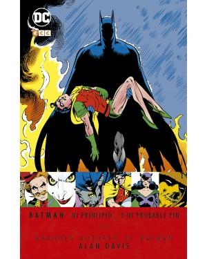 Grandes autores BATMAN: ALAN DAVIS - MI PRINCIPIO... Y MI PROBABLE FIN