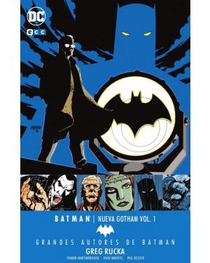 Grandes autores de BATMAN: GREG RUCKA - BATMAN: NUEVA GOTHAM 01