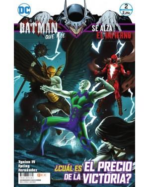 EL BATMAN QUE RÍE: SE ALZA EL INFIERNO 02 (de 04)