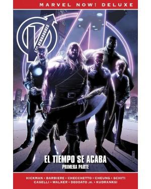 Marvel now! deluxe:  LOS VENGADORES DE JONATHAN HICKMAN 08: EL TIEMPO SE ACABA. 1ª PARTE
