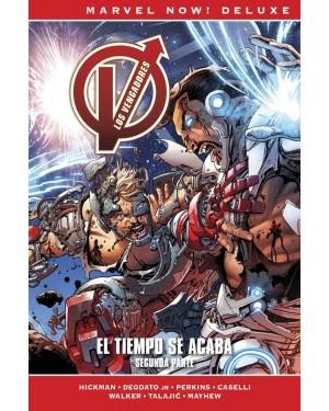Marvel now! deluxe:  LOS VENGADORES DE JONATHAN HICKMAN 09: EL TIEMPO SE ACABA. 2ª PARTE