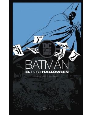 BATMAN: EL LARGO HALLOWEEN (Edición DC black label) (2ª Edición)
