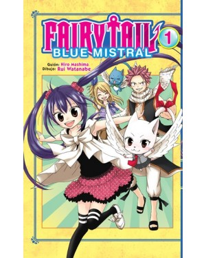 FAIRY TAIL BLUE MISTRAL 01 (de 04)