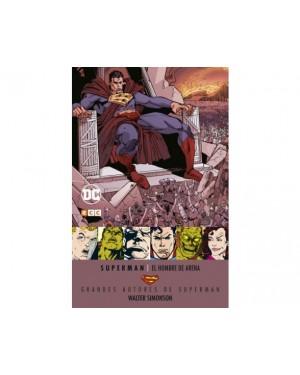 Grandes autores de SUPERMAN: WALTER SIMONSON. EL HOMBRE DE ARENA