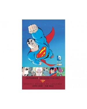 Grandes autores de SUPERMAN: JEPH LOEB y TIM SALE - LAS CUATRO ESTACIONES