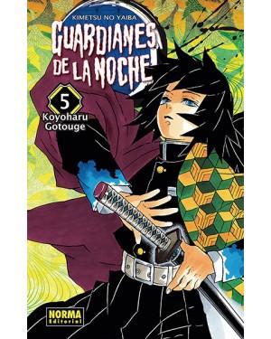 GUARDIANES DE LA NOCHE 05 ( kimetsu no Yaiba )