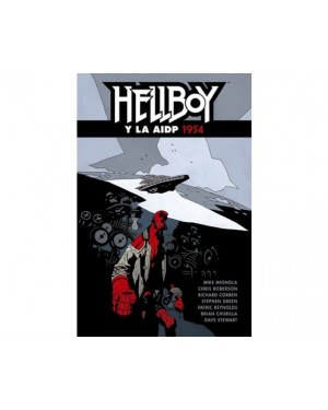 HELLBOY 22. HELLBOY Y LA AIDP 1954