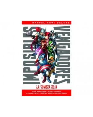 Marvel now! deluxe:  IMPOSIBLES VENGADORES 01: LA SOMBRA ROJA