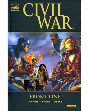 MARVEL DELUXE:  CIVIL WAR  FRONT LINE