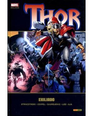 Marvel deluxe:  THOR 03: EXILIADO