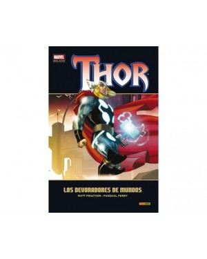 Marvel deluxe:  THOR 05: LOS DEVORADORES DE MUNDOS